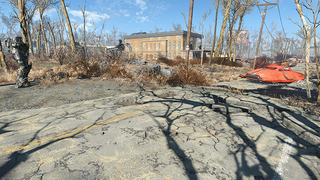 Fallout 4 - Shadow Quality Interactive Comparison #001