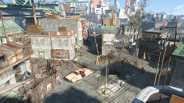 Fallout 4 - Shadow Quality Interactive Comparison #002
