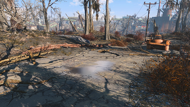 Fallout 4 - Texture Quality Interactive Comparison #002