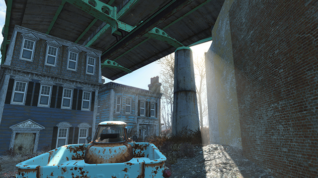 Fallout 4 - God Rays Quality Interactive Comparison #001