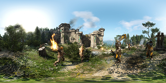 For Honor NVIDIA Ansel 360 Degree Photosphere Screenshot