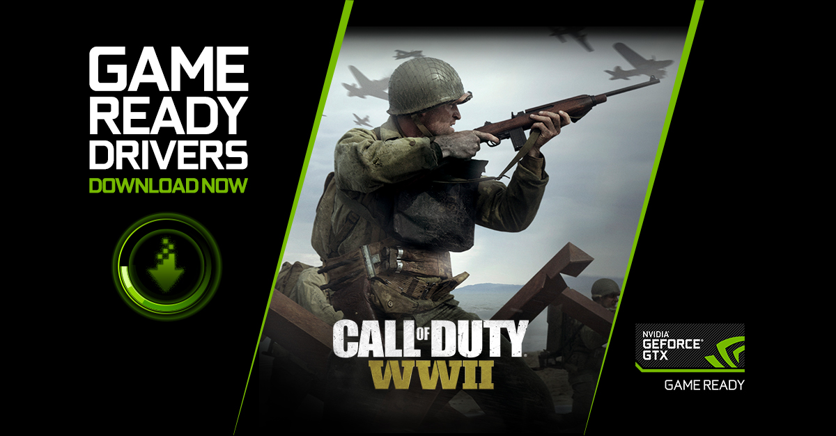 Call Of Duty WWII Game Ready Driver Released
