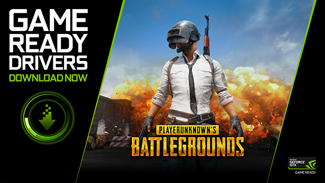 PLAYERUNKNOWN'S BATTLEGROUNDS Game Ready Driver Released - Download Now