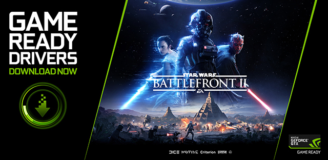 Star Wars Battlefront II Game Ready Driver Released - Download Now