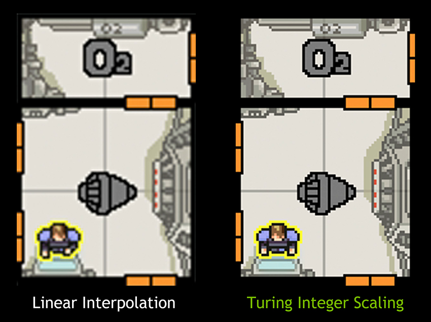 FTL: Faster Than Light With and Without Integer Scaling Enabled
