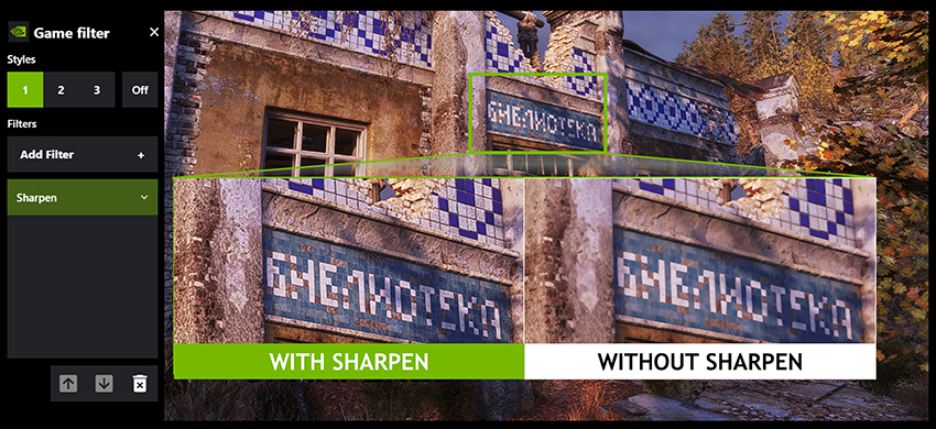 How To Enable NVIDIA Freestyle Sharpening Filter In-Game