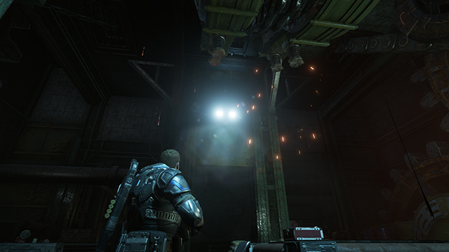 Gears of War 4 - Lens Flare Quality Interactive Comparison #001 - Ultra vs. Off
