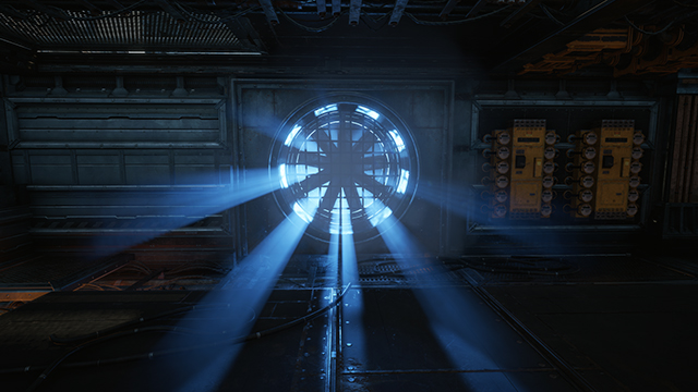 《戰爭機器 4》- 光線散射品質互動式比較圖 #001 - 極高 vs. 關閉