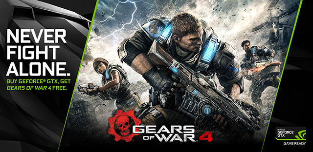 Gears of War 4 GeForce GTX Game Ready Bundle