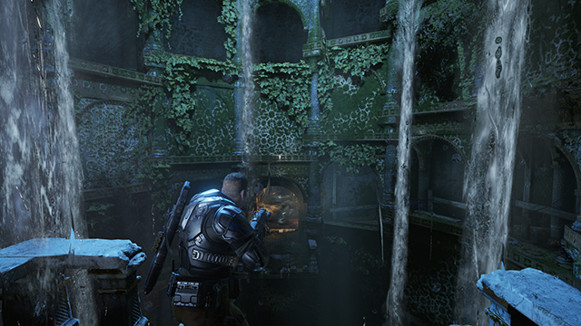 Gears of War 4 - Refractions Interactive Comparison #003 - On vs. Off