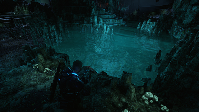 Gears of War 4 - Refractions Interactive Comparison #004 - On vs. Off