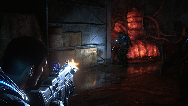Gears of War 4 - Screen Space Reflections Interactive Comparison #001 - Insane vs. Ultra