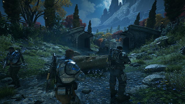 Gears of War 4 - Screen Space Shadow Quality Interactive Comparison #001 - Ultra vs. Off