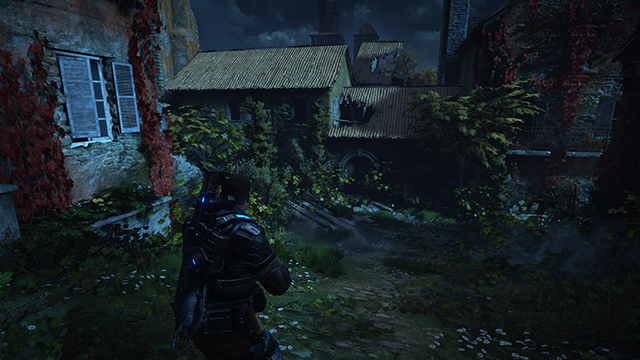 Gears of War 4 - Screen Space Shadow Quality Interactive Comparison #002 - Ultra vs. Off