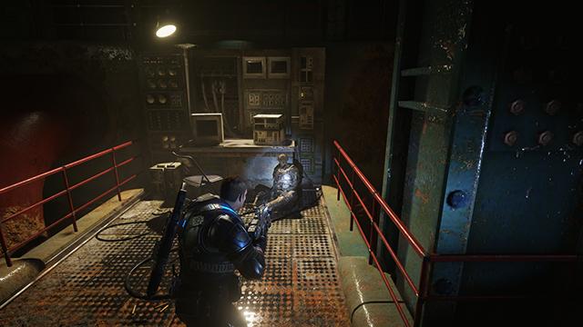 《戰爭機器 4》- 陰影品質互動式比較圖 #004 - 極高 vs. 低