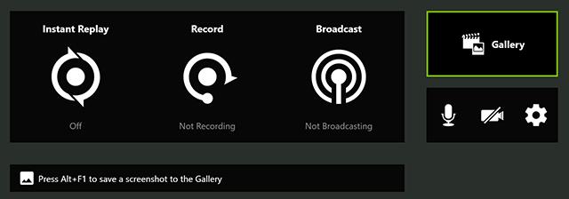 按下 Alt+Z 就能存取 GeForce Experience 內建的圖片集