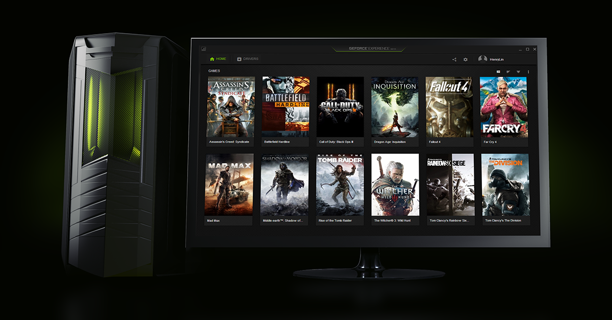 Download & Test Drive The New GeForce Experience | GeForce