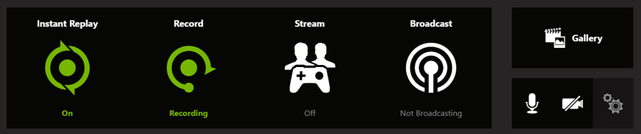 nvidia game recording shortcut
