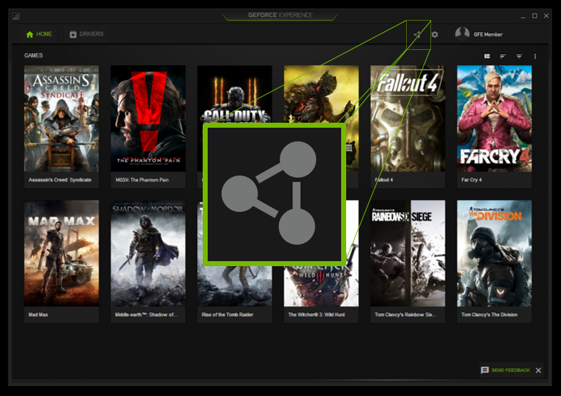 Shadowplay Is Now The New Share Overlay | GeForce