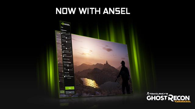 """3 月 7 日发布的""""幽灵行动:荒野 (Tom Clancy's Ghost Recon Wildlands)""""将支持 NVIDIA Ansel"""