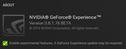 GeForce Experience 3 8 Beta Adds Multi-Track Audio and Advanced