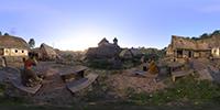 Kingdom Come: Deliverance 360-degree photosphere NVIDIA Ansel in-game photo #003