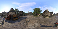 Kingdom Come: Deliverance 360-degree photosphere NVIDIA Ansel in-game photo #004