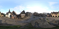 Kingdom Come: Deliverance 360-degree photosphere NVIDIA Ansel in-game photo #006