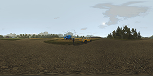Pure Farming 2018 360-degree photosphere NVIDIA Ansel in-game photo #003