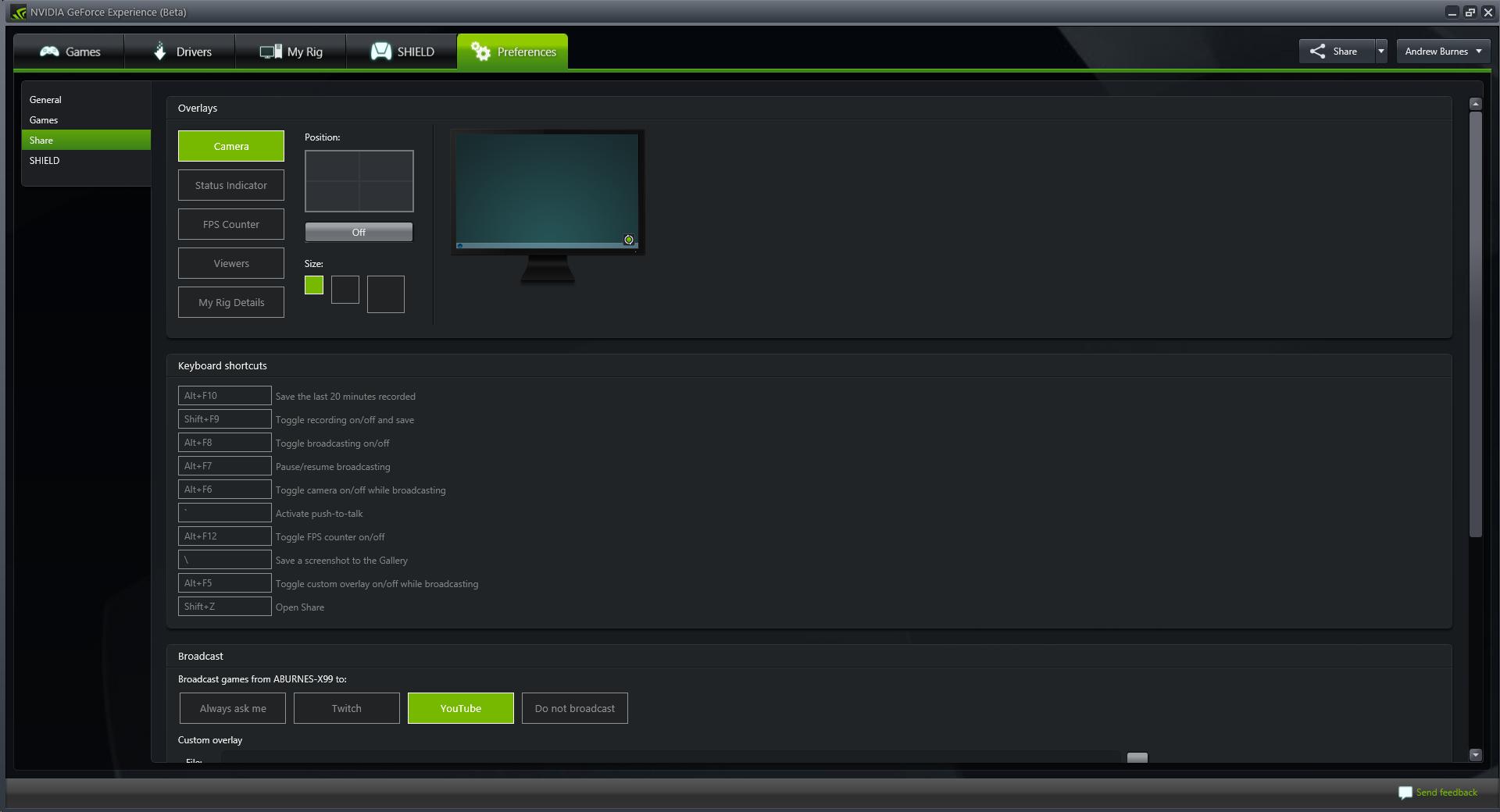 Geforce Experience Beta Adds In Game Screenshot Capture