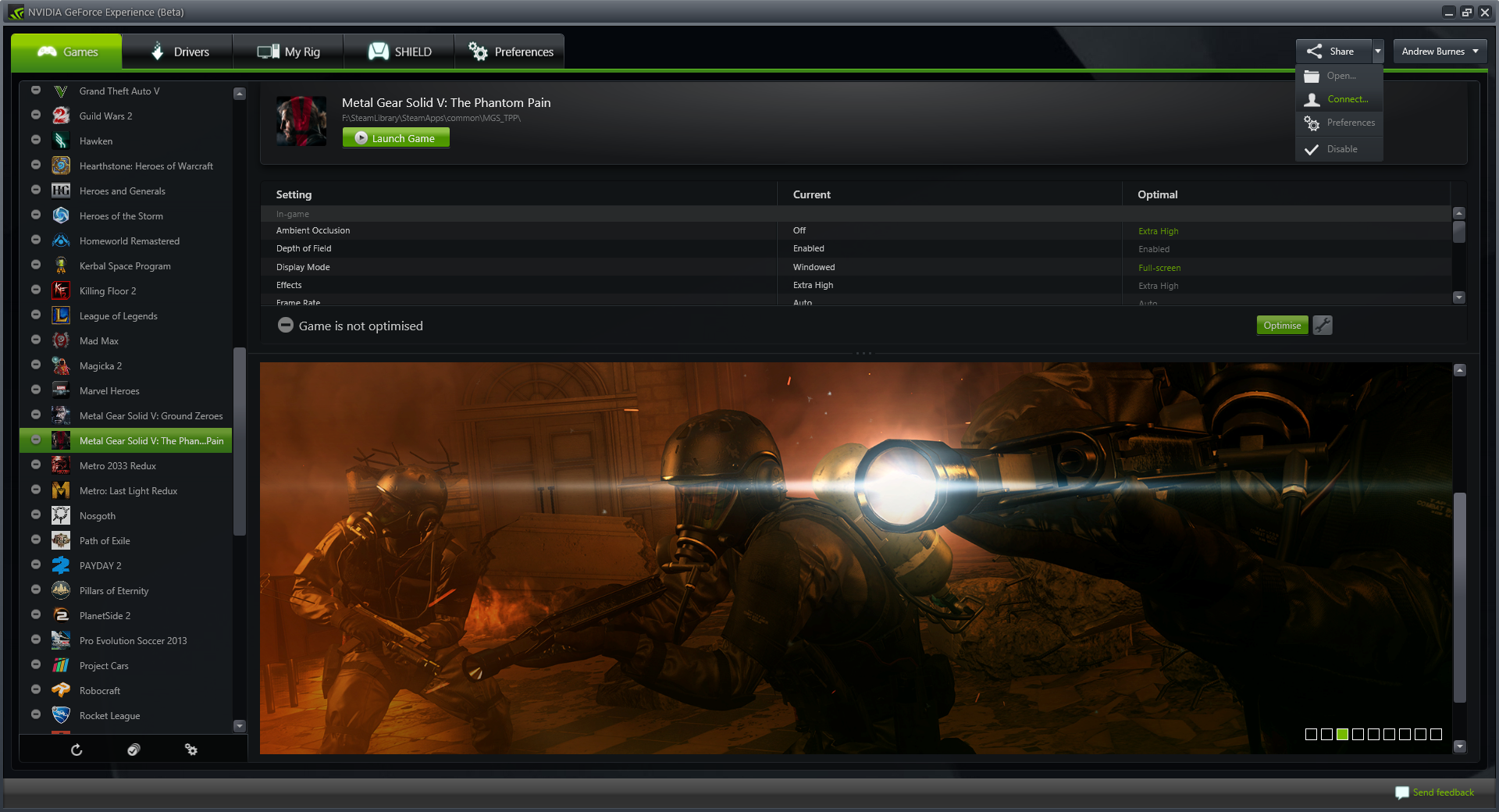 GeForce Experience Beta Adds In-Game Screenshot Capture