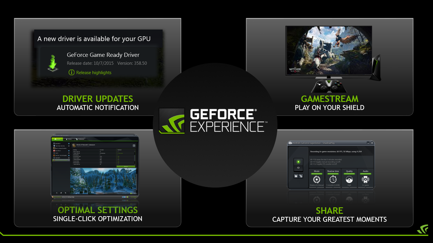GeForce Experience Beta Adds 4K GameStream, 1080p60 Broadcast, and