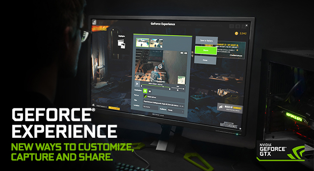 GeForce Experience at Gamescom 2017: New Ways To Customize, Capture and Share In Your Favorite Games