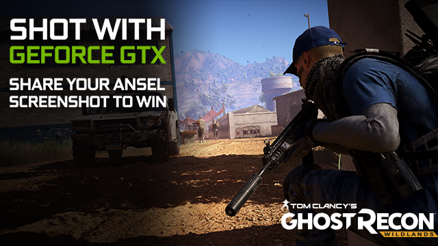 Tom Clancy's Ghost Recon Wildlands Shot With GeForce GTX NVIDIA Ansel Contest