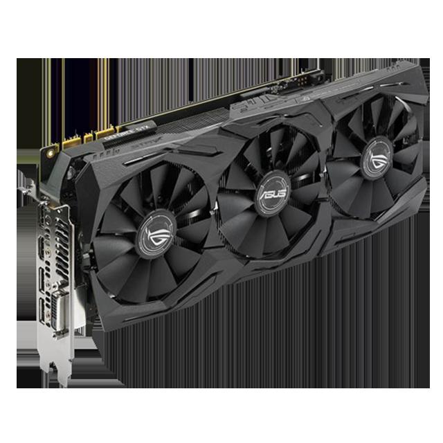 ASUS ROG Strix GeForce GTX 1080 OC Edition 11Gbps