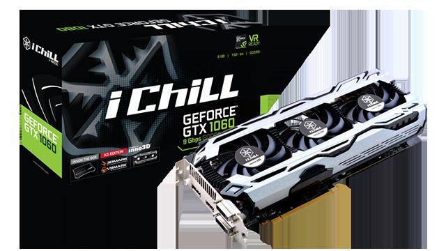 Inno3D iChill GeForce GTX 1060 9Gbps X3 V2