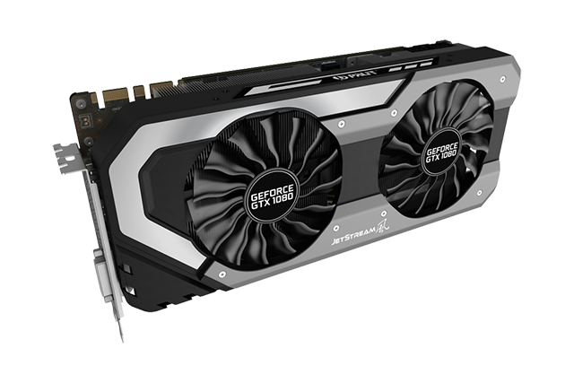 Palit GeForce GTX 1080 OC Super JetStream 11Gbps
