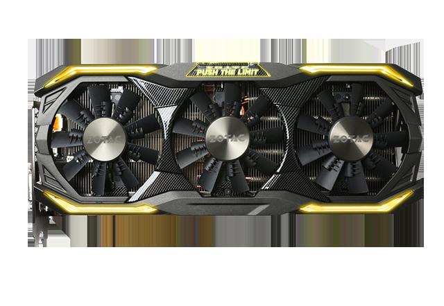 ZOTAC GeForce GTX 1080 AMP Extreme+ 11Gbps