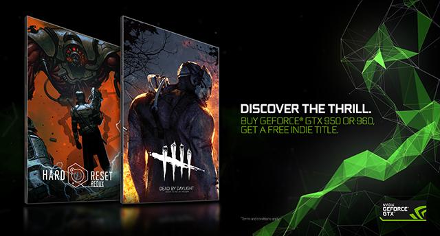 NVIDIA GeForce GTX 960, 950, 960M, 950M Fall 2016 Indie Bundle