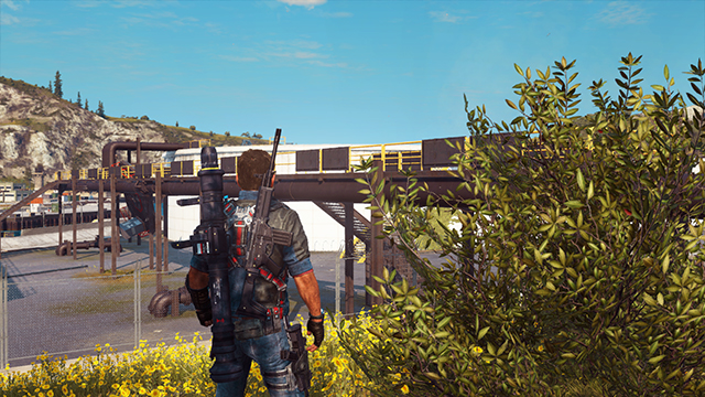 Just Cause 3 - Anti-Aliasing Interactive Comparison #001