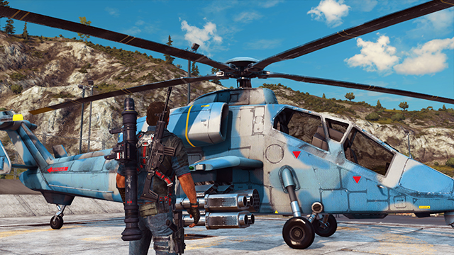 Just Cause 3 - Anti-Aliasing Interactive Comparison #002