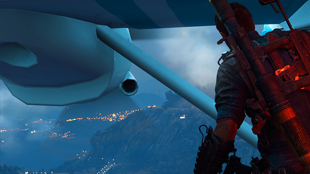 Just Cause 3 - Bokeh Depth of Field Interactive Comparison #001 - On vs. Off