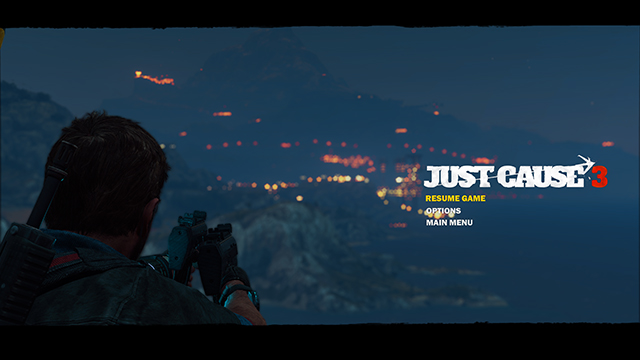 Just Cause 3 - Bokeh Depth of Field Interactive Comparison #003 - On vs. Off