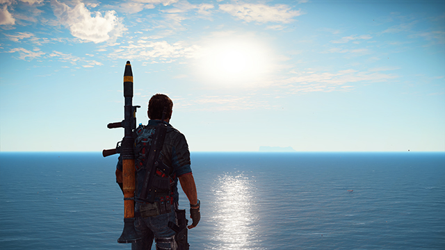 Just Cause 3 - Edge Fade Interactive Comparison #001 - On vs. Off