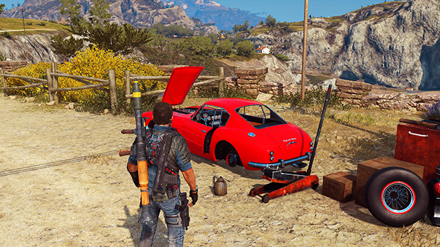 Just Cause 3 - Global Illumination Interactive Comparison #001 - On vs. Off