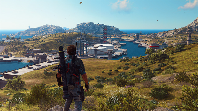 Just Cause 3 - LOD Factor Interactive Comparison #001 - Very High vs. Low