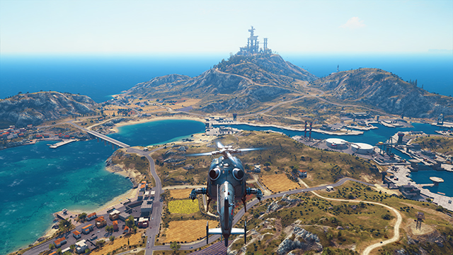 Just Cause 3 - LOD Factor Interactive Comparison #002 - Very High vs. Low