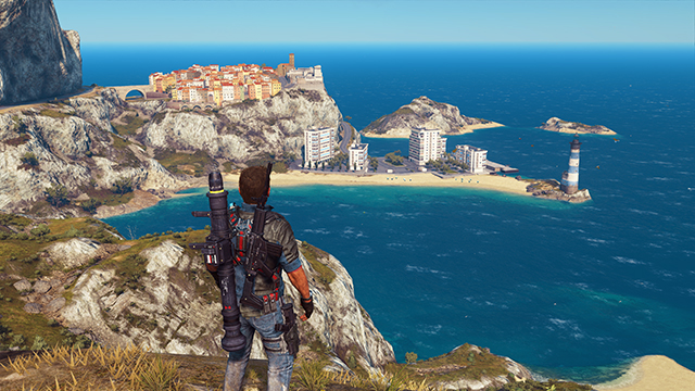Just Cause 3 - LOD Factor Interactive Comparison #003 - Very High vs. Low