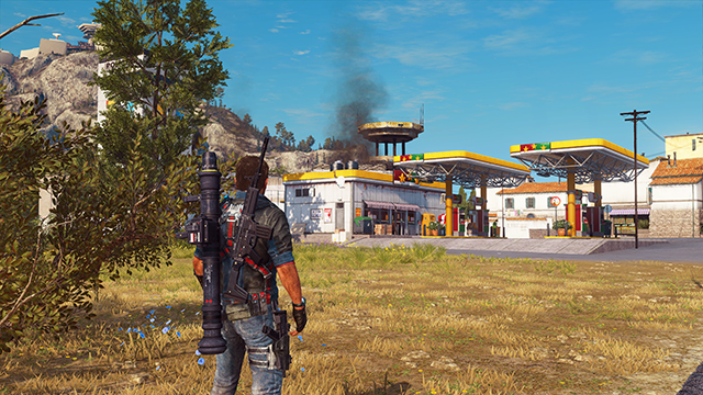 Just Cause 3 - NVIDIA Dynamic Super Resolution Comparison #001 - 1920x1080 vs. 3840x2160