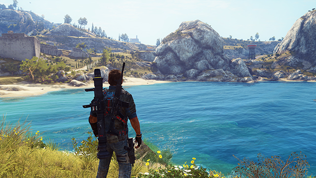 Just Cause 3 - Screen Space Reflections Interactive Comparison #002 - On vs. Off